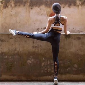 Sexy Workout Leggings With Cut-outs